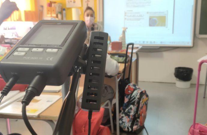 Alovera realiza un estudio de dióxido de carbono en sus centros escolares para prevenir los contagios de Covid-19