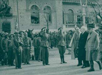 Azaña en Alcalá: la «foto olvidada y rescatada» en el 80 aniversario de su muerte