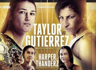 La boxeadora torrejonera Miriam Gutiérrez peleará este sábado por las coronas mundiales del peso ligero