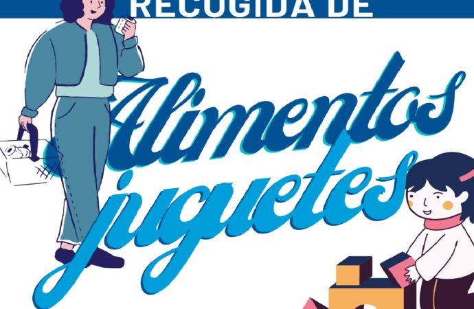 Campaña de recogida de juguetes y alimentos en Villalbilla del 28 de noviembre al 4 de enero