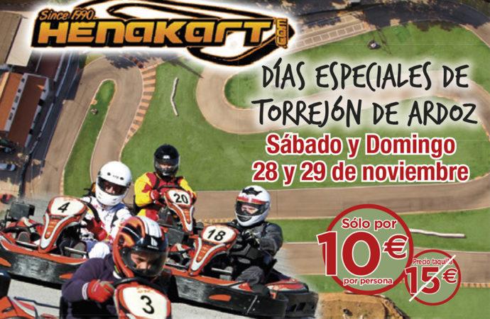 Continúan los Días Especiales de Torrejón de Ardoz: este fin de semana descuentos en Henakart