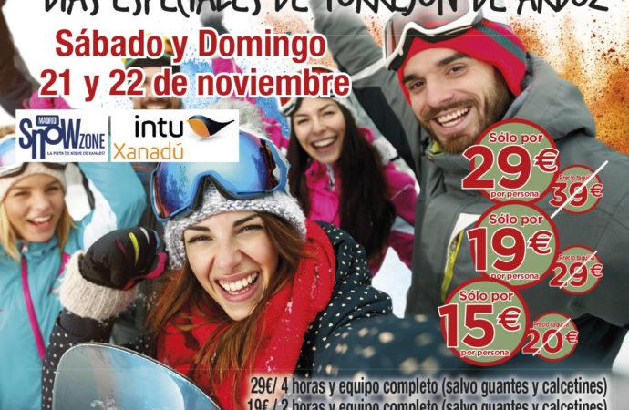 Días Especiales de Torrejón: este fin de semana descuentos en Coco Room y Snow Zone