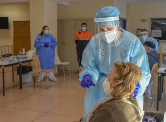 Este martes finaliza en Torrejón la realización de test de antígenos a los vecinos de la Zona Básica de Salud de Brújula