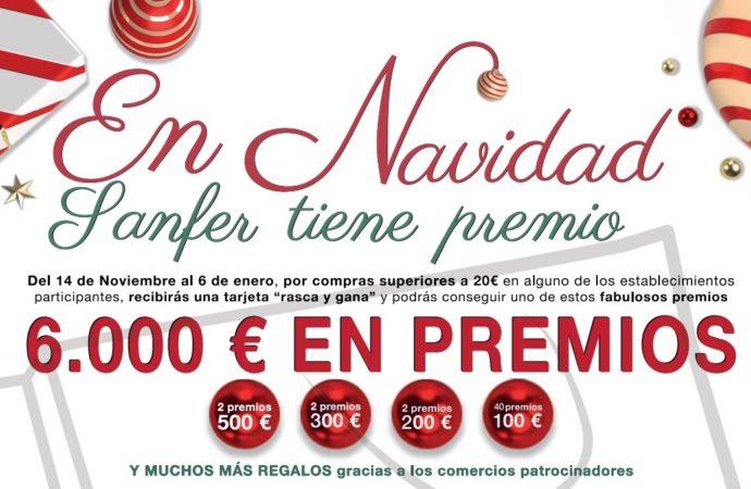 Este sábado comienza en San Fernando la campaña en apoyo al comercio local 'En Navidad, Sanfer tiene Premio'