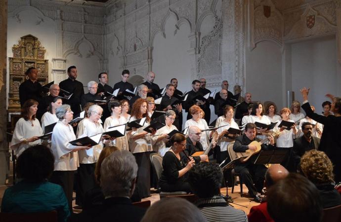 Concierto de la Schola Cantorum de Alcalá en la Catedral Magistral el día 22 por Santa Cecilia