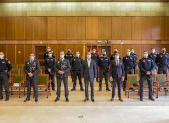 Torrejón refuerza la plantilla de la Policía Local con la incorporación de 13 nuevos oficiales