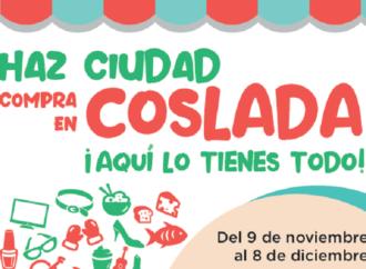Ya está activa la campaña de promoción del comercio local de Coslada con premios por valor de 2.500 euros