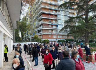 Ya ha comenzado en Torrejón la realización de test de antígenos a los vecinos de la Zona Básica de Brújula