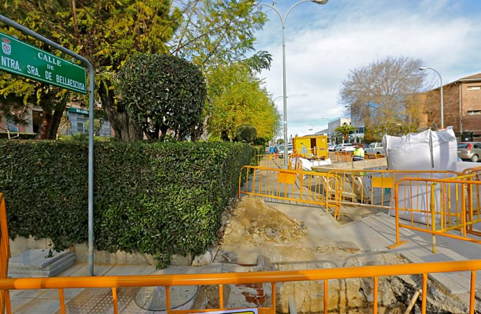 Coslada invierte 12.000€ en mejorar la red de pluviales de la calle Nuestra Señora de Bellaescusa
