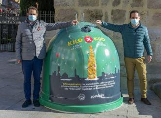 """El Ayuntamiento de Torrejón y Ecovidrio lanzan la campaña solidaria """"1 Kg de vidrio por 1 Kg de alimentos"""""""