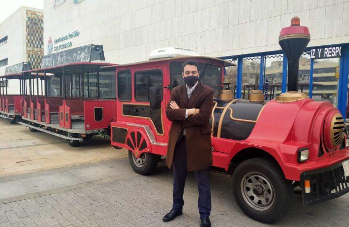 Este miércoles empiezan a recorrer las calles de San Fernando los Trenes Turísticos