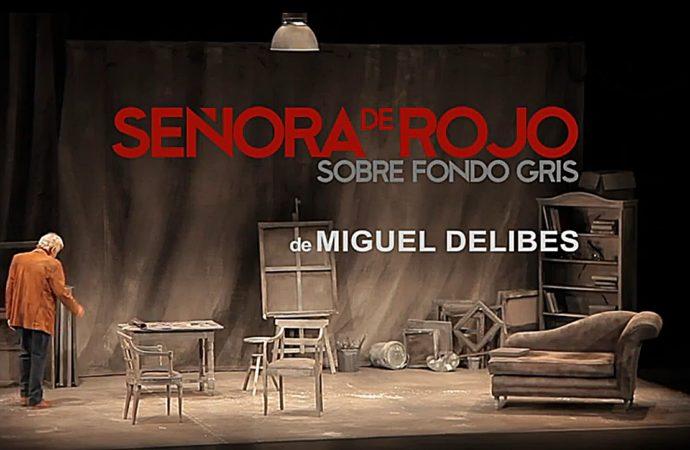 José Sacristán se subirá a las tablas del Teatro Municipal de Coslada este sábado con «Señora de rojo sobre fondo gris»