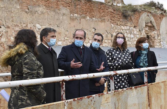 La rehabilitación del Real Alcázar de Guadalajara comenzará en 2021