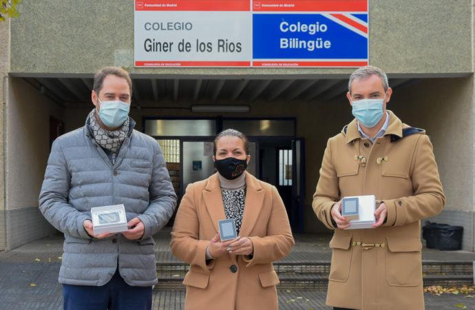 Los colegios públicos de Torrejón tendrán medidores de CO2 para controlar la calidad del aire