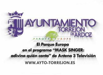 Parque Europa de Torrejón, plató para anuncios y programas de TV como el exitoso Mask Singer