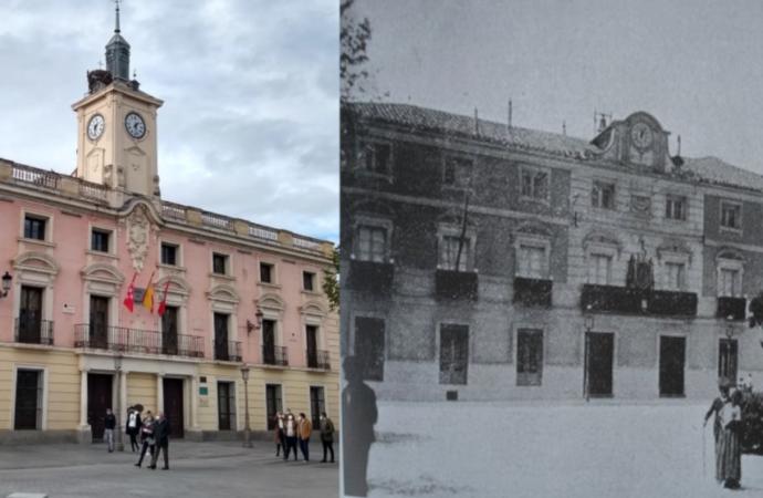 Nochevieja y Año Nuevo: así era el antiguo reloj del Ayuntamiento de Alcalá de Henares