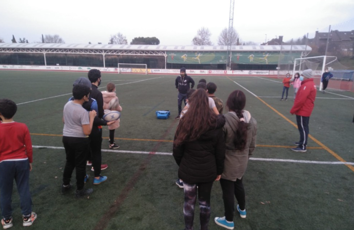 Rugby e integración en Rivas y la Cañada Real Galiana con inspiración alcalaína