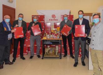 Torrejón a través de Cáritas ayudará a las familias más vulnerables con 500 cestas navideñas