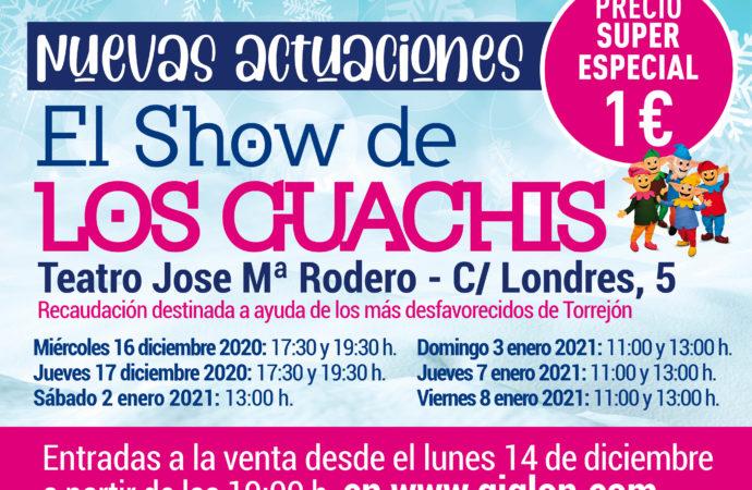 Torrejón pone a la venta las entradas para las nuevas actuaciones de los Guachis y CantaJuego