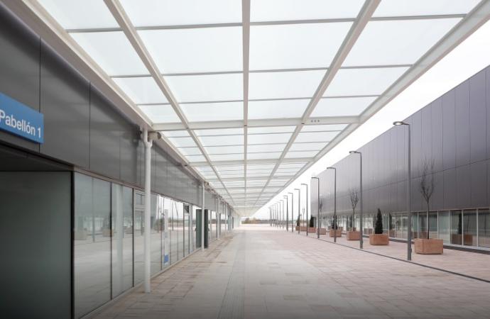 El nuevo «Hospital de Pandemias» Isabel Zendal de la Comunidad de Madrid, por dentro