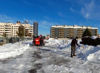 La nevada da la puntilla a las empresas del Corredor que pierden el 80% de su facturación
