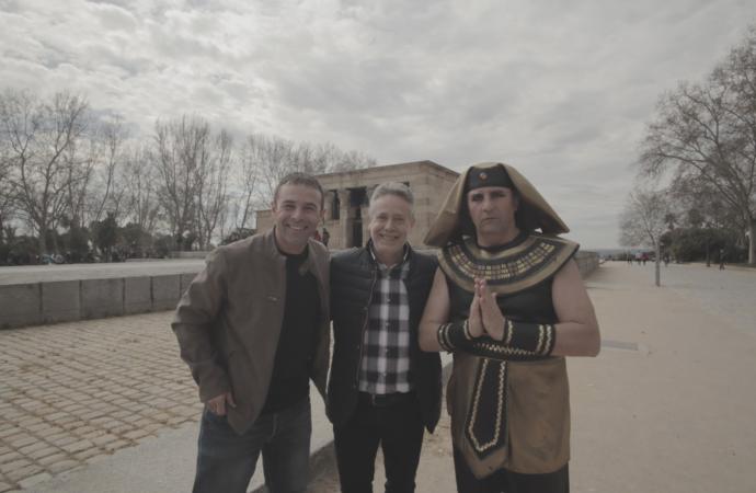 Tutankamón y «La Ruta de Egipto» llegan este domingo 3 de enero a Telemadrid y Movistar TV