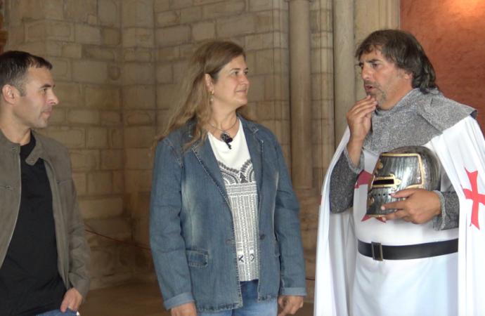 Las Cruzadas, el Santo Grial y los Caballeros Templarios, nuevo programa de «La Brújula del Tiempo» ya disponible en la web de Telemadrid