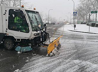 El Corredor del Henares se prepara para las nevadas previstas desde hoy al domingo