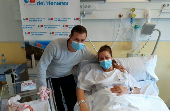 Una niña y dos niños, los primeros en llegar al Corredor del Henares en 2021