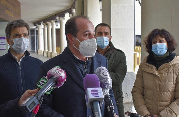 Guadalajara valora los daños ocasionados por 'Filomena' en dos millones de euros