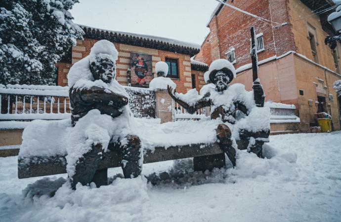 Nieve en Alcalá: nuevo vídeo que resume una semana difícil y bella al mismo tiempo