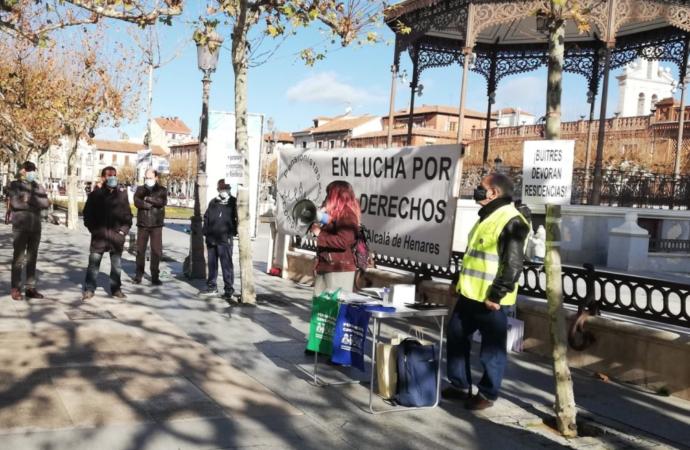 Los pensionistas de Alcalá se movilizan en defensa del Sistema Público de Pensiones