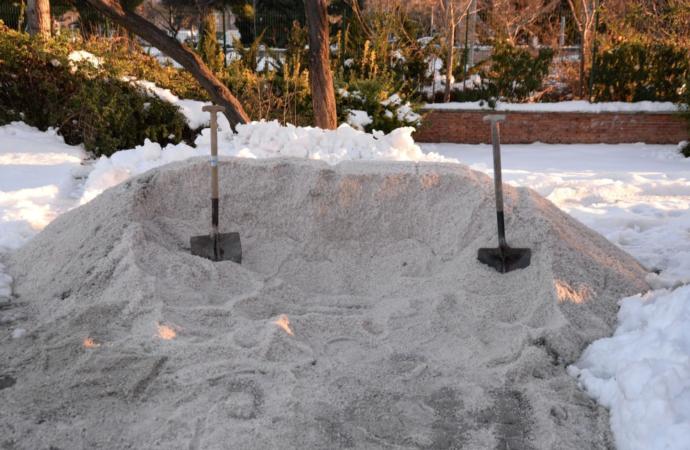 Nieve en Alcalá: dispositivo especial ante las inclemencias invernales y la posibilidad real de nevadas