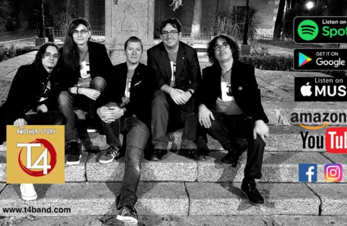 Música: «Another History», primer disco de la banda alcalaína «THE T4 Band»