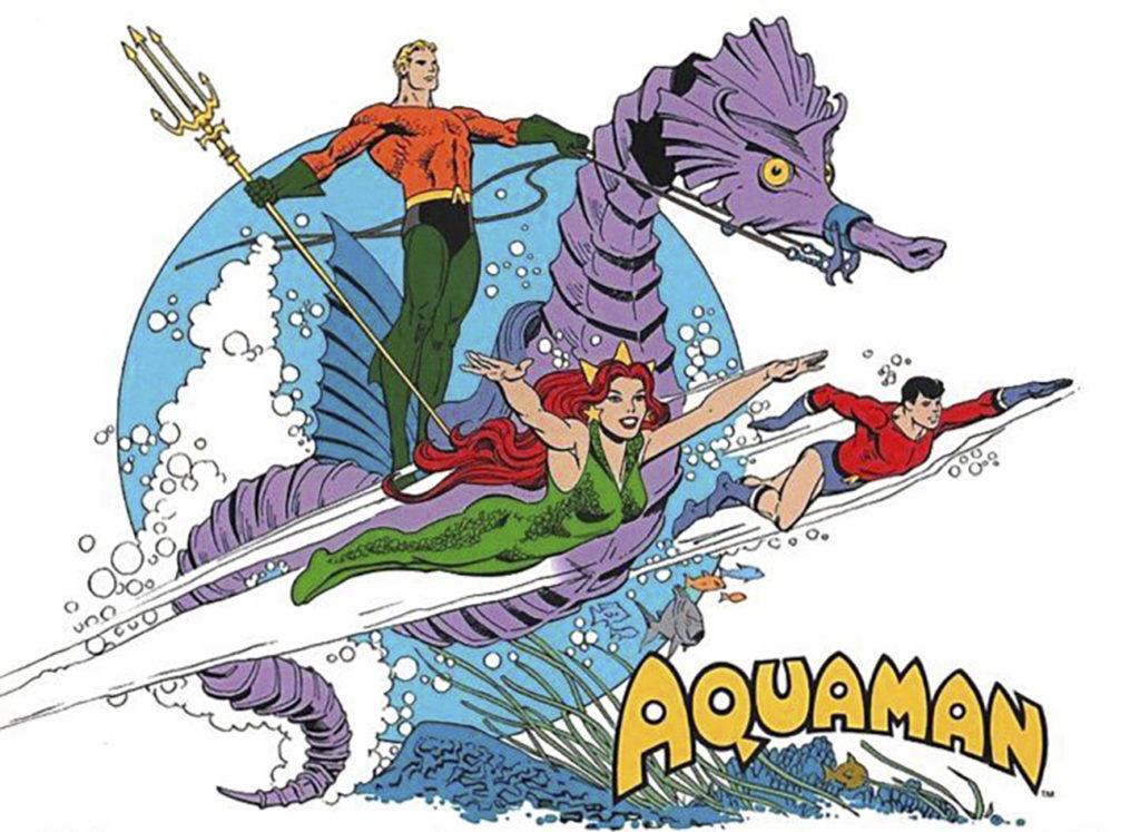 Aquaman, el mito acuático de nuestra infancia.