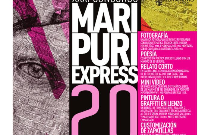 Abierto el plazo de inscripción del XXXI Concurso Mari Puri Express 2.0 de Torrejón