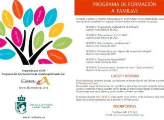 El Ayuntamiento de Coslada ofrece charlas formativas dirigidas a familias