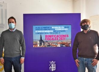 El Ayuntamiento de Torrejón continúa en 2021 con su política de bajada de impuestos municipales