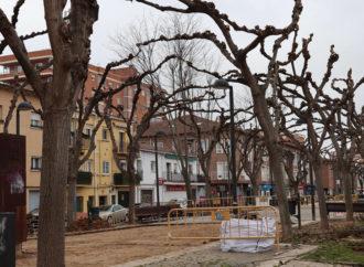 En marcha las obras de remodelación del Bulevar de las Acacias en Azuqueca