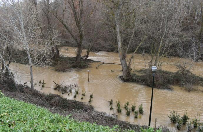 Aviso de tormentas y posibles inundaciones efectuado por la Agencia de Seguridad y Emergencias Madrid 112