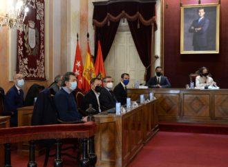 La ministra de Industria, Comercio y Turismo, Reyes Maroto, se reúne con los alcaldes del Corredor del Henares