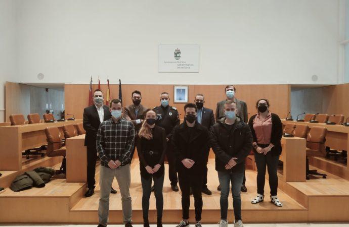 La Policía Local de San Fernando incorpora a cuatro nuevos agentes a su plantilla