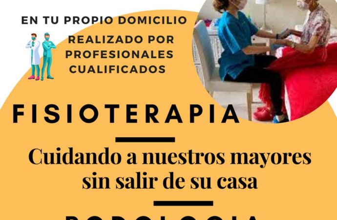 Los mayores de 65 años de Torrejón disponen de un nuevo servicio gratuito y a domicilio de fisioterapia y podología