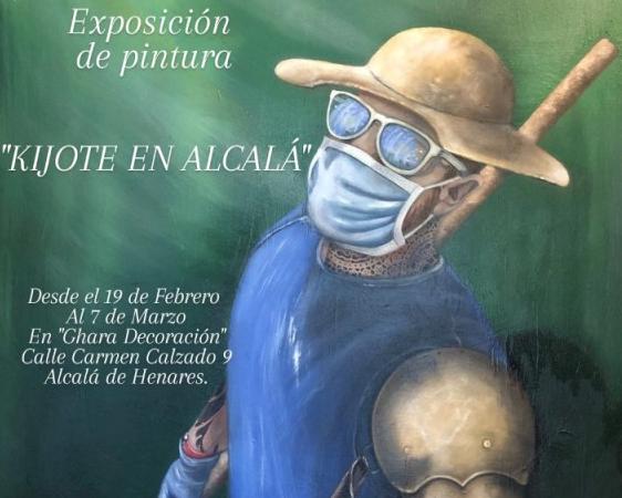 La mirada de «un Kijote postmoderno» en Alcalá de Henares: Exposición de Pintura de Juan Ángel Vivas
