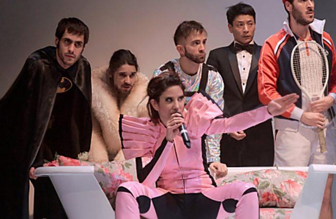 Este sábado teatro en Coslada con la comedia ácida «Man Up»