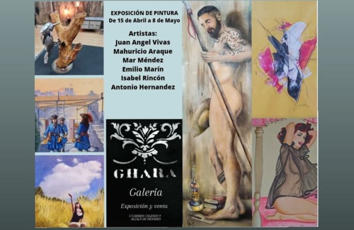 Nueva exposición colectiva en la Sala Ghara de Alcalá: pintura y escultura hasta el 8 de mayo