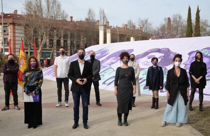 """«Mujeres cambiando el mundo"""", el nuevo mural del Auditorio Municipal Manuel Azaña de Alcalá"""