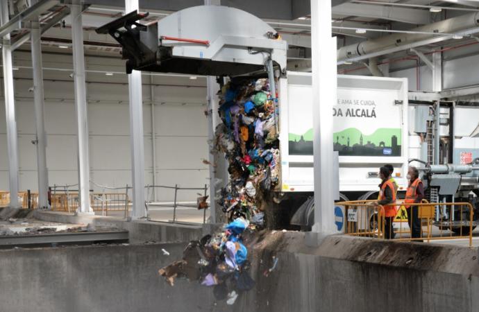 Lista para comenzar a funcionar la nueva Planta de Tratamiento de Residuos de Loeches