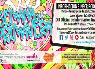 San Fernando anuncia el programa de actividades para la Semana de la Primavera