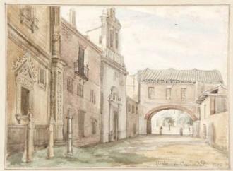 Curiosidades de Alcalá: el arco perdido de la Universidad y la corrida de toros que se celebró en uno de sus patios / Por María Jesús V. Madruga